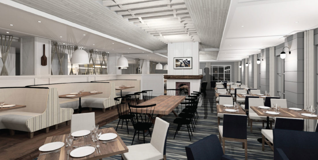 fine dining sea- and farm-to-table restaurant at luxury Cliff House resort and spa in Cape Neddick, Maine, ME