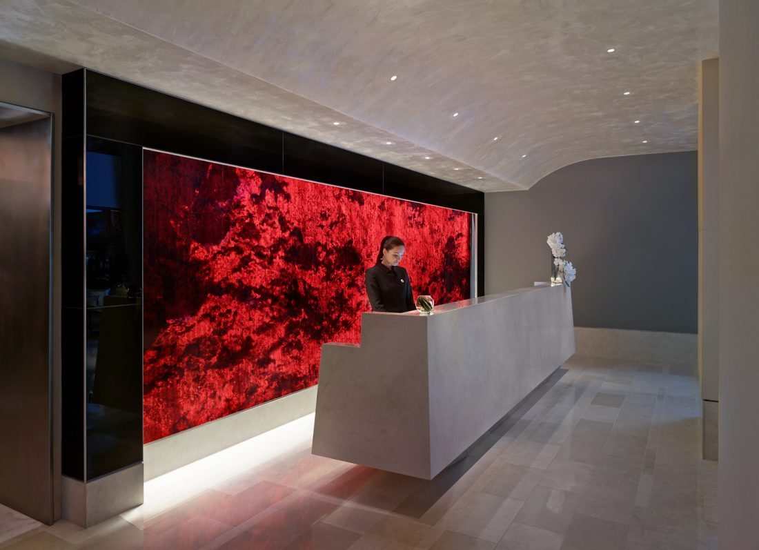 concierge desk at luxury boutique hotel in Manhattan, NY, new hotel brand development, hospitality industry