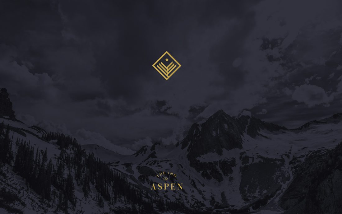 Inn at Aspen brand identity, logo design and visual language, Buttermilk Mountain in Aspen, Colorado, CO