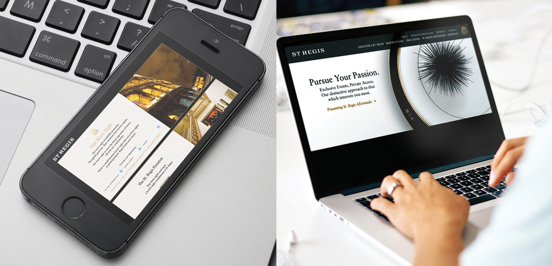 interactive website development, mobile device compatible design, immersive videos by branding agency
